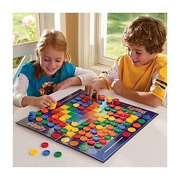 Color Set, Skippity, Zýp Zýp Oyunu, Atla Topla, Strateji Oyunu,  Zeka ve Mantýk Oyunu