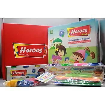 Heroes, Kinetik Kum Seti, Oyun Havuzu, Oyun Kalýbý, Oyun Hamuru, Merdane Seti