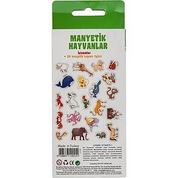 DiyToy, Manyetik Hayvanlar,  30 Parça, Magnet Hayvan Figürleri,  Mýknatýslý Hayvanlar
