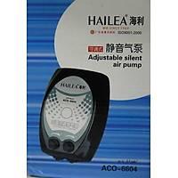 Hailea Aco 6604 Çift Çýkýs Akvaryum Hava Motoru 4 WATT, 4.5 X 2L /MIN