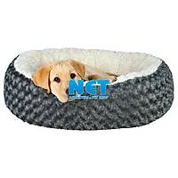 Trixie köpek&kedi yatak, 70cm, gri/krem