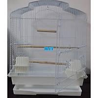 QH Pet Cage Papaðan Kafesi Beyaz 47x36x56 1703B