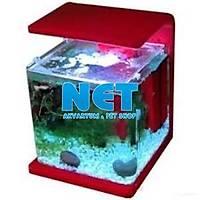 Hailea E30R Kýrmýzý Nano Akvaryum 30 Litre Led Iþýk