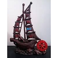 Akvaryum Dekoru Havalý Gemi 18x6X24 cm