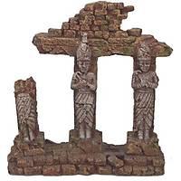 Akvaryum Dekoru Roma Sütunu 18,2x6,6x18,7 Ölçülerinde