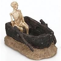 Akvaryum Dekor Sandal ve Ýskelet 11,5x7x7,5 cm