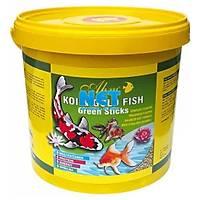 Ahm Koi Goldfish Green Sticks 1.5 kg.