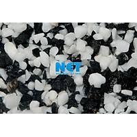 DAK21 25 kg Siyah Beyaz Kalýn Kum Çuval