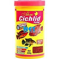 Ahm Cichlid Pellet Natural Colour 1000 ml.