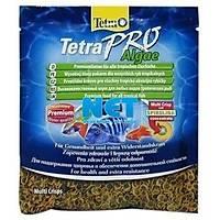 Tetra Pro Algae Crisps 12 gr  Poþet Orjinal Yem Tetra Pro Vegatable  Skt : 07/2023