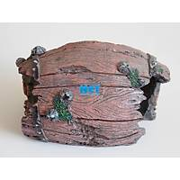 King Akvaryum Dekoru Kýrýk Fýçý 16 X 11 X 10.5 cm