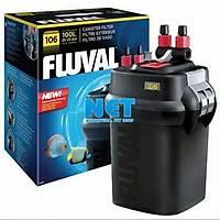 Fluval 106 Dýþ Filtre 550 LT/Saat 100  LT Akvaryum için