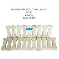 Gardenmix Sütlü Deri Kemik 10CM 40-45g.20 LÝ Paket SKT:05/21