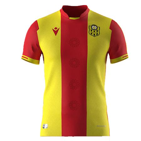 2021 - 2022 sezonu Sarý-Kýrmýzý maç formasý
