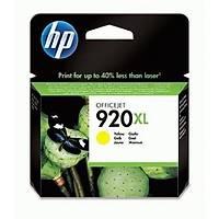 HP 920XL CD974AE Sarý Orjinal Kartuþ - 6000-6500-7000-7500