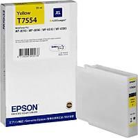 Epson T7554 C13T755440 Sarý Orjinal Kartuþ WF-8010-8090-8510