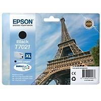 Epson T7021XL C13T70214010 Siyah Orjinal Kartuþ - WP-4015-4025