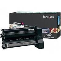 Lexmark C7720mx Kýrmýzý Orjinal Toner - C772 / X772