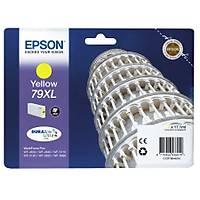 Epson 79XL T7904 C13T79044010 Sarý Orjinal Kartuþ - WF-5690-5620