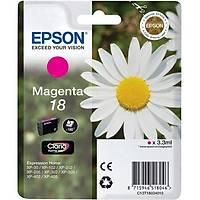Epson T1803 18 C13T18034020 Kýrmýzý Orjinal Kartuþ - XP-102-215