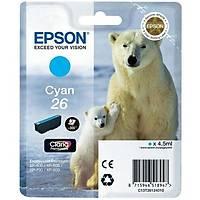 Epson T2612 26 C13T26124020 Mavi Orjinal Kartuþ - XP-510-600