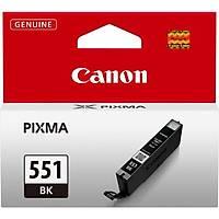 Canon CLI-551BK Siyah Orjinal Kartuþ- MG6350/MG5450/IP7250/IX6850