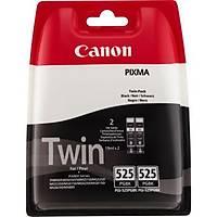 Canon PGI-525PGBK Ýkili Paket Siyah Orjinal Kartuþ - IP-4200-5200