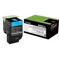 Lexmark CX310 80C8SC0 Mavi Orjinal Toner - CX310-CX410-CX510