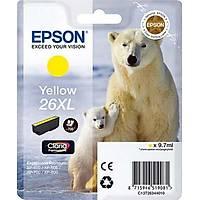 Epson T2634 26XL C13T26344020 Sarý Orjinal Kartuþ - XP-510-600