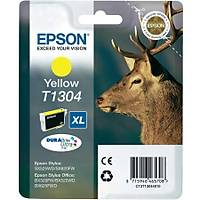 Epson T1304 C13T13044020 Sarý Orjinal Kartuþ - SX-BX-525-535-635