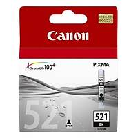 Canon CLI-521BK Siyah Orjinal Kartuþ - MP-540-550-560-620-630-640