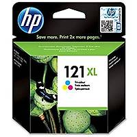HP 121XL CC644HE Renkli Orjinal Kartuþ - D2563-F2483-ENVY 110