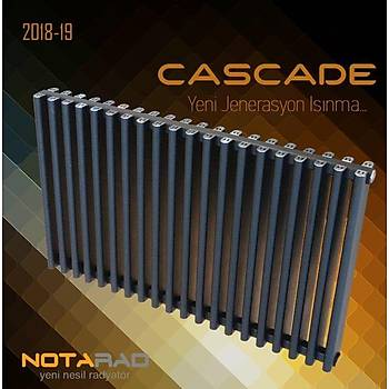 Notarad Cascade 1300X400 Alüminyum Radyatör