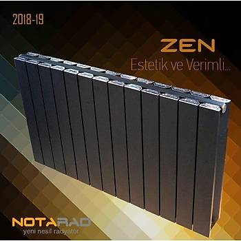 Notarad Zen 300X1000 Alüminyum Radyatör