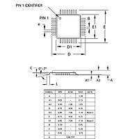 ATMEGA8A-AU SMD 8-Bit 16Mhz Mikrodenetleyici TQFP-32