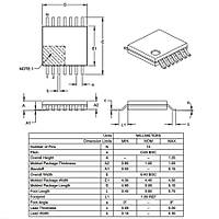 PIC16F1824 I/ST SMD TSSOP-14 8-Bit 32 MHz Mikrodenetleyici