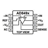 AD8495ARMZ-R7TR Termokuplü Amplifikatör Entegre MSOP8