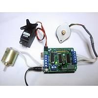 Arduino L293D Shield Step Servo Motor Sürücü