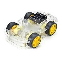 Robot Araba Platformu 4Wd