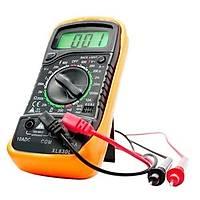 XL830L Iþýklý Dijital Multimetre Voltmetre Ampermetre Avometre , 9v Pil Hediyeli