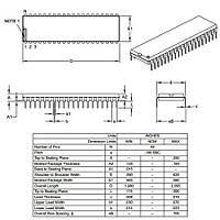 PIC18F4685 I/P DIP-40 8-Bit 40MHz Mikrodenetleyici