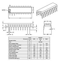 PIC18F14K50-I/P 8-Bit 48Mhz Mikrodenetleyici DIP-20