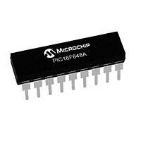 PIC16F648A I/P PDIP-18 8-Bit 20 MHz Mikrodenetleyici