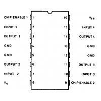 L293B Motor Sürücü Entegresi Dip-16