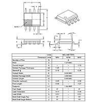 PIC12F615-I/SN SMD 8-Bit 20Mhz Mikrodenetleyici