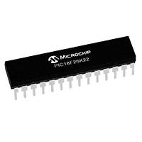 PIC18F26K22-I/SP 8-Bit 64MHz Mikrodenetleyici SPDIP28