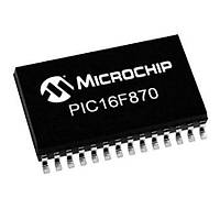PIC16F870 I/SO SMD SOIC-28 8-Bit 20 MHz Mikrodenetleyici