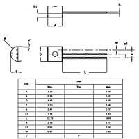 L78L33ACZTR 3.3V 100mA Voltaj Regülatörü To92-3