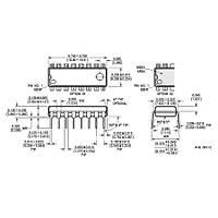 DAC0800 Dijital Analog 莈virici Entegresi Dip-16