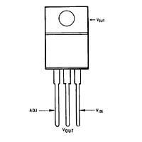 LM317HVT 1.5A Voltaj Regülatörü TO220-3
